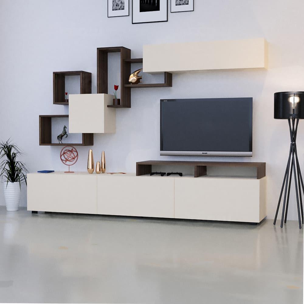طاولة تلفاز Elit2 بني وبيج 197
